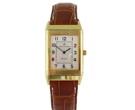 18CT YELLOW GOLD JLC REVERSO