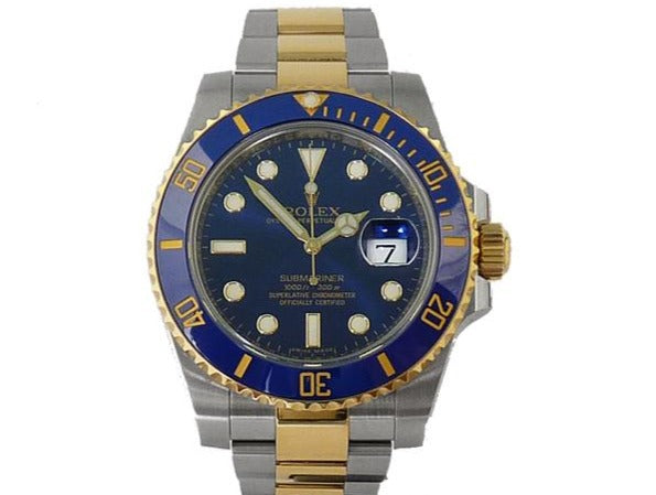 STEEL/GOLD SUBMARINER-DATE