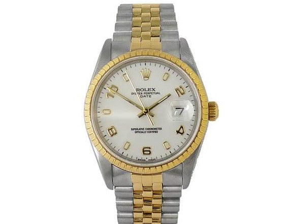 STEEL & YELLOW GOLD OYSTER DATE
