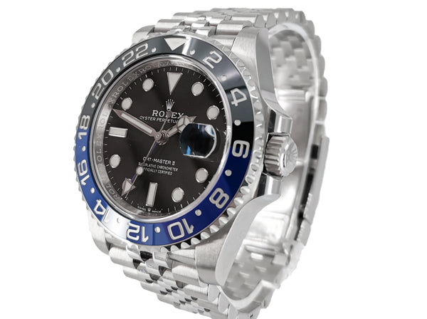 GMT MASTER II BLACK/BLUE