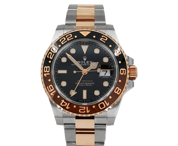 STEEL & ROSE GOLD GMT MASTER II