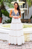 Boho Dreams Maxi Dress (Multi) - Pineapple Collective
