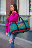 Vereda Southwestern Large Weekender Bag (Style 1) - Pineapple Collective