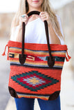 My Azteca Tote Bag (Orange) - Pineapple Collective