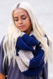 Rugby Knitted Scarf - Pineapple Collective
