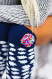 Rainbow Pom Pom Leg Warmers - Pineapple Collective