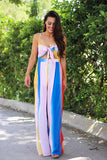 Colorful Summers Multi Stripe Jumpsuit - Pineapple Collective
