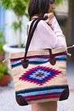 My Azteca Tote Bag (Beige) - Pineapple Collective