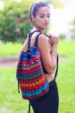 Gypsy Style Gym Duffle Bag (Red) - Pineapple Collective