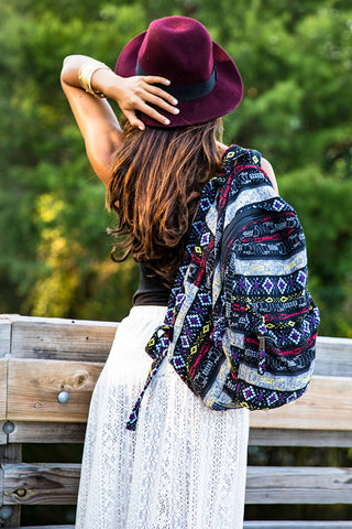 Hill Tribe Fair Trade Backpack