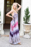 Beach Please Tie Dye Maxi Dress - Pineapple Collective