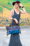 Rainbow Pom Pom Trim HandBag Style #1 - Pineapple Collective