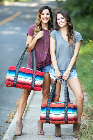 Rio Bravo Weekender Bags (Assorted Colors) - Pineapple Collective