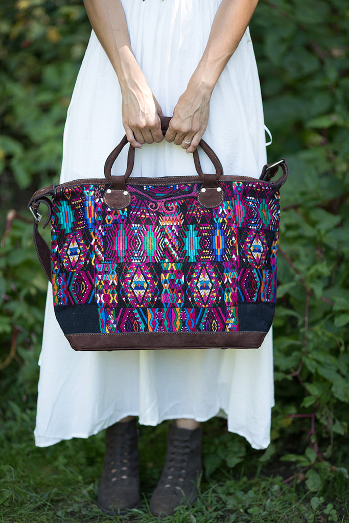 Warrior Artisan Weekender Bag (Style #3) - Pineapple Collective