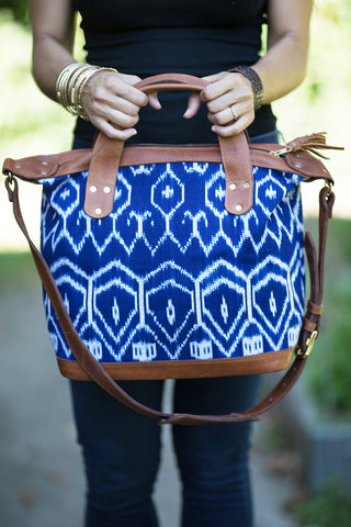 Artisan Ikat Day Bag