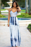 Tie Dye Open Back Dress - Pineapple Collective