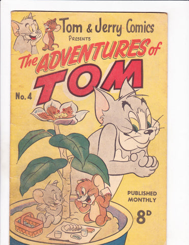 Adventures Of Tom No 4 1960's - Australian -
