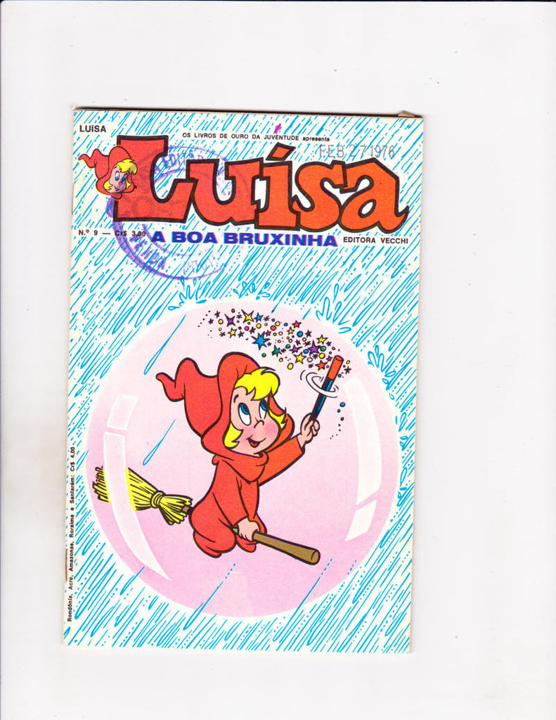 Luisa No 9 1976 Brazilian Wendy Bubble In The Rain Cover!