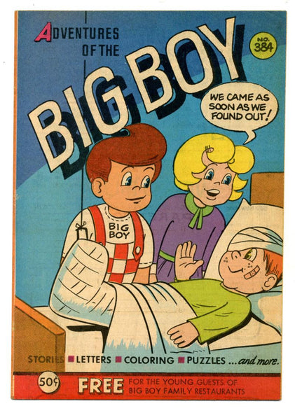 Adventures of the Big Boy #384    Restaurant Giveaway Comic