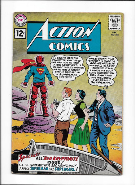 ACTION COMICS #283 [1961 VG-FN] SPECIAL