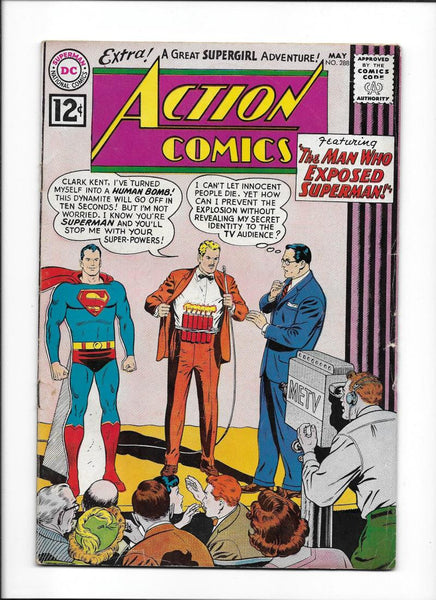 ACTION COMICS #288 [1962 VG-FN] ORIGIN SUPERGIRL!