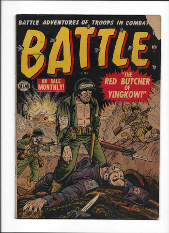 BATTLE  #10  [1952 GD]
