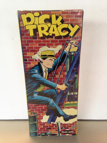 Dick Tracy    Polar Lights Model Assembly Kit    Original Box     2000