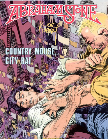 Abraham Stone: Country Mouse City Rat    Joe Kubert     1991