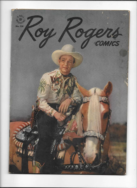 FOUR COLOR #124 [1946 VG+] ROY ROGERS PHOTO COVER!