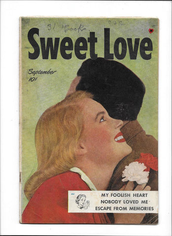 SWEET LOVE MAGAZINE #1 [1949 VG+]