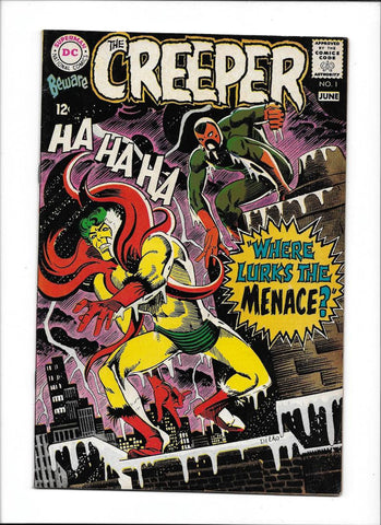 BEWARE THE CREEPER #1 [1968 VG-FN]
