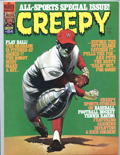 Creepy #84     All Sports Special Issue