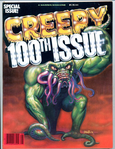 Creepy #100     100th Special Issue