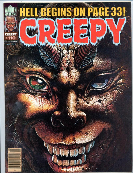 Creepy #110     Horror Magazine 1979