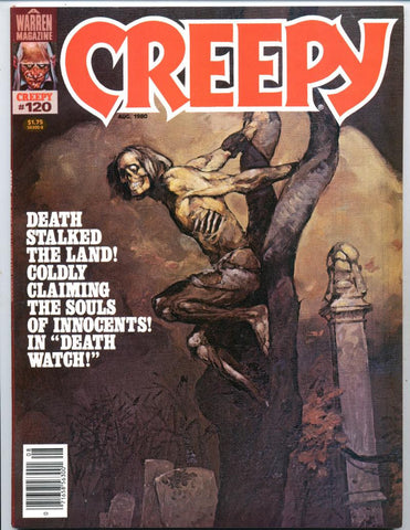 Creepy #120     Jeff Jones Cover