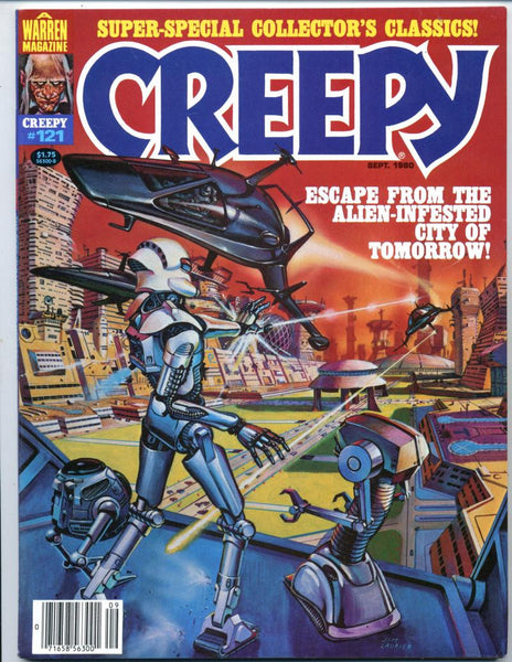 Creepy #121     All Severin Issue