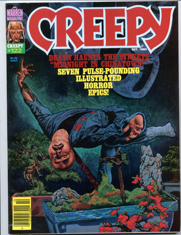 Creepy #122     Horror Magazine 1980