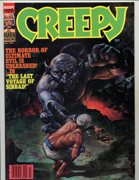 Creepy #129    Evil Genie Cover