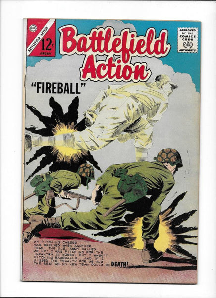 BATTLEFIELD ACTION #51  [1964 FN-VF]