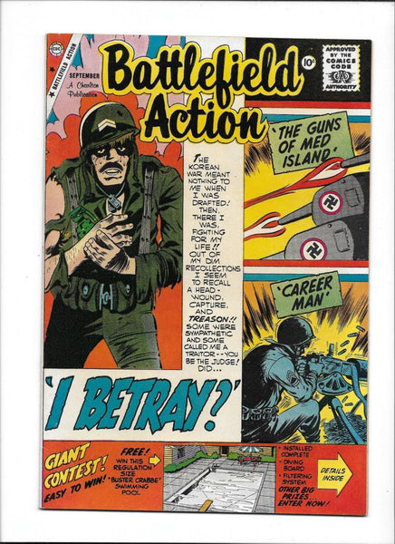 BATTLEFIELD ACTION #26  [1959 VF+]