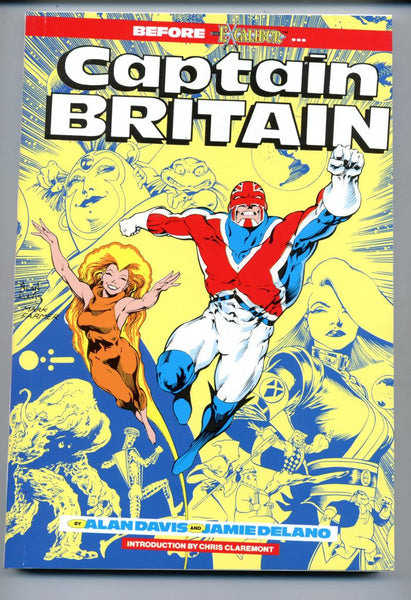 Captain Britain     1988      Marvel     Alan Davis    Jamie Delano