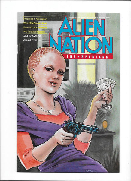 ALIEN NATION: THE SPARTANS #2  [1990 VF+]  ADAPTATION OF HIT TV SERIES!