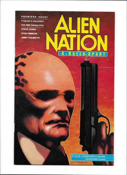 ALIEN NATION: A BREED APART #1  [1990 FN-VF]  ADAPTATION OF HIT TV SERIES!