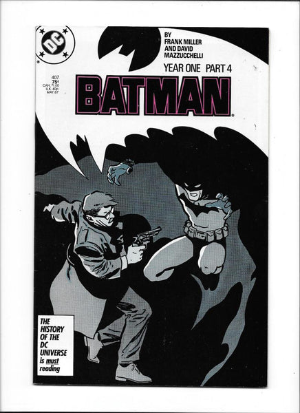 BATMAN: YEAR ONE PART FOUR #407 [1987 VF-] CLASSIC FRANK MILLER!