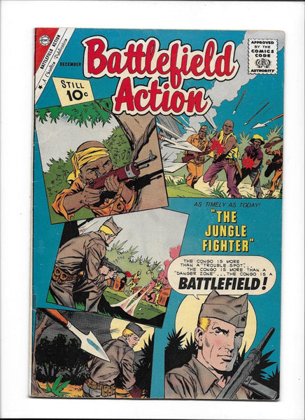 BATTLEFIELD ACTION #39  [1961 VG-FN]