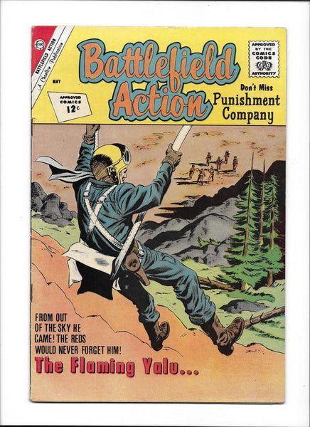 BATTLEFIELD ACTION #41  [1962 VG-FN]