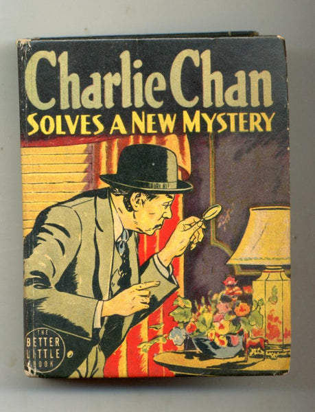 Charlie Chan Solves a New Mystery     Big Little Book     1940      Whitman