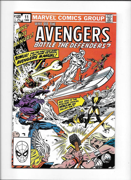 AVENGERS KING-SIZE ANNUAL #11 [1982 VF-NM]