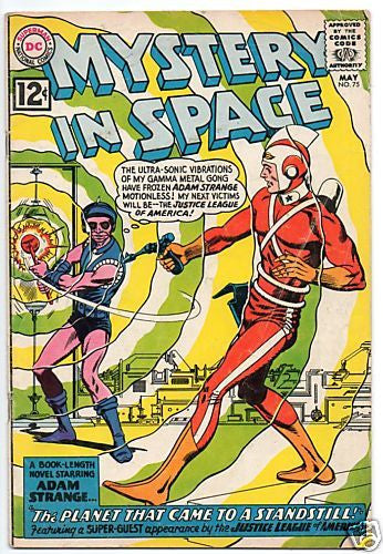 MYSTERY IN SPACE 75 ADAM STRANGE COVER