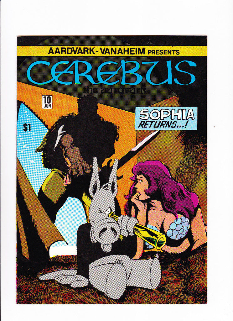 Cerebus The Aardvark  Vol.1 No.10   :: 1979 ::   :: Sophia Returns....! ::